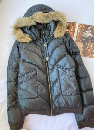 Брендовая куртка на пуху/ пуховик