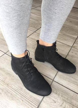 Ботинки челси натуральная кожа нубук vagabond