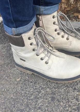 Ботинки грубые термо водоотталкивающие
