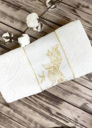Крыжма полотенце ангел золото хлопок