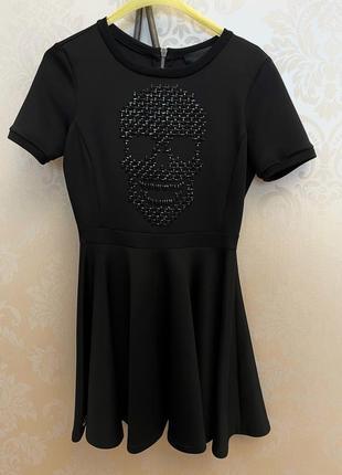 Short black dress pp / чорное платье pp