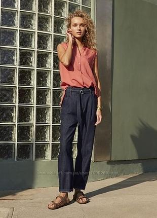 Модные и удобные темно синие джинсы uniqlo  размер 27 и 28