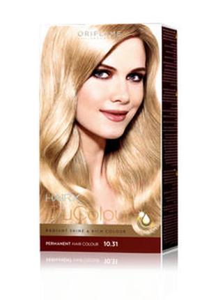 Краска для волос «цвет-эксперт» oriflame trucolor hair x  - светлый блонд 10.31