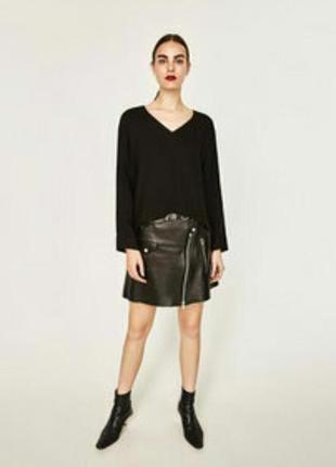 Женская блузка zara # вискозная блузка # новая женская блузка