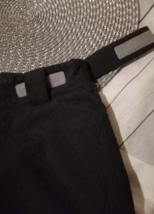 Тёплые зимние спортивные штаны горнолыжные дутики зима5 фото