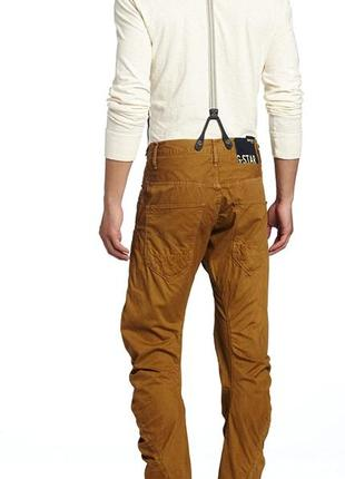 Шикарные оригинальные джинсы g_star raw arc 3d loose tapered coj