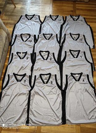 Баскетбольная форма на команду 12 маек nuola джерси