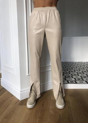Крутые кожаные штаны