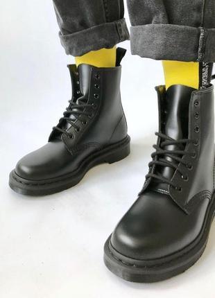 Оригінал черевики dr martens 1460 mono black smooth нарешті dr.martens original в україні!
