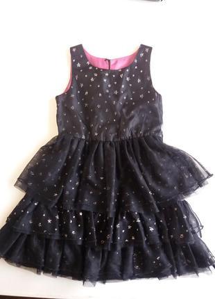 Платье на девочку 3-5 лет нарядное на утренник на праздник