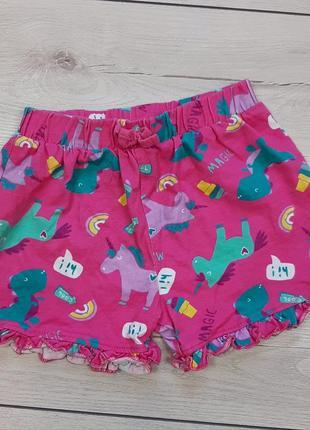 Трикотажные шорты george для девочки