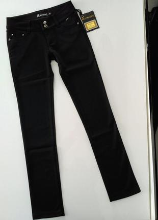 Теплые штаны брюки на флисе / зимние штаники брючки джинсы классические тёплые