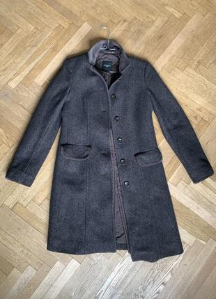 Weekend max mara  пальто шерсть