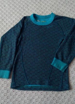 Термореглан devold з мериносової шерсті термо футболка лонгслив термобілизна термобелье