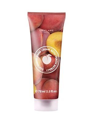 Смягчающий крем для рук с экстрактом персика
