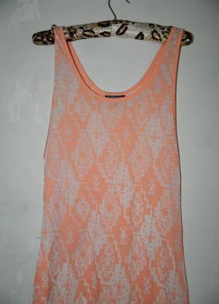 Платье в узоры летнее
