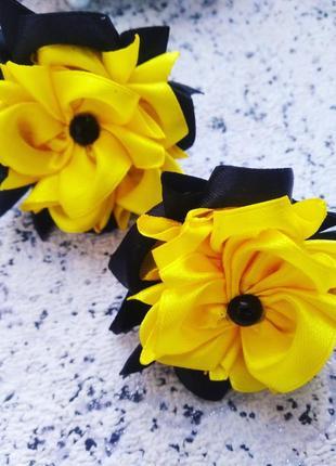 Бантики цветочки