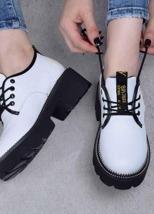 Классные белые туфли (332432)
