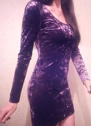 Красивое бархатное платье/платье/бархат