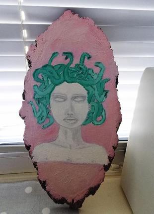 Картина, арт  медуза горгона meduza