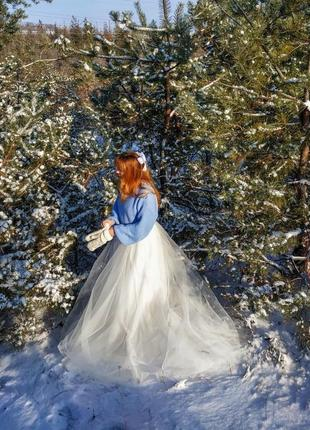 Свадебное платье или платье для фотосессии