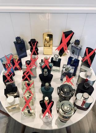 Распив мужской парфюмерии, акция, все по 20 грн/1мл