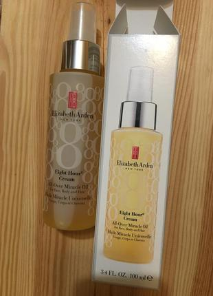 Elizabeth arden масло для лица, тела и волос eight hour cream all-over miracle oil
