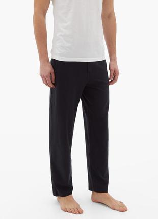 Трикотажные штаны для дома и отдыха хл/л