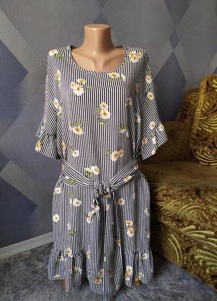 Фирменное летнее платье