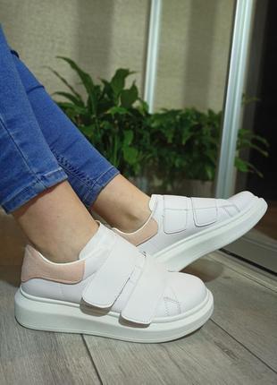 Женские кроссовки на липучке