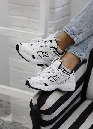 Кросівки new balance 452 white black  кроссовки