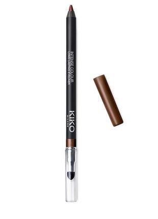 Гелевий олівець для очей kiko intense colour long lasting eyeliner 03