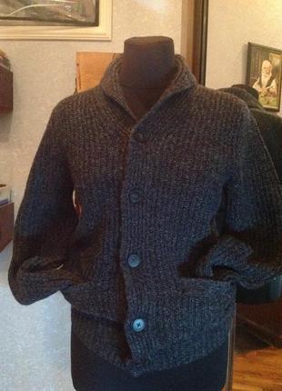 Тёпленький, уютный кардиган (кофта) бренда h&m, р. 46