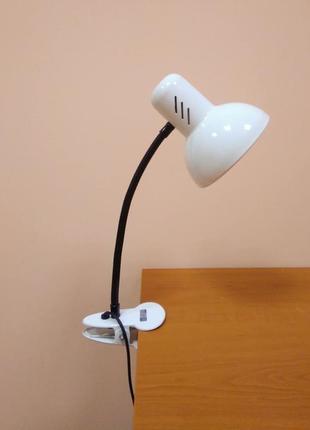 Настольная лампа прищепка