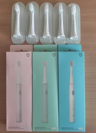 Электрическая зубная щетка xiaomi mijia t100