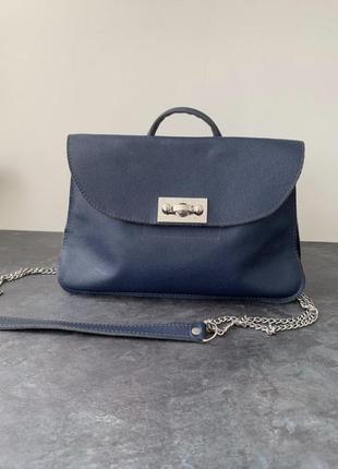 Стильная сумка-портфель ручной работы kansa