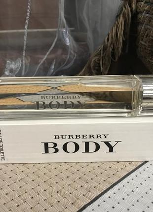 Burberry body тестер с крышечкой 85мл. оригинал 100%!