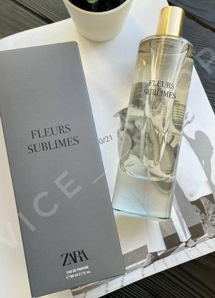Zara fleurs sublimes 80 мл духи парфюмерия туалетная вода оригинал испания купить