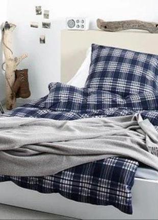 Практичное постельное бельё от tcm tchibo, германия! п-155*220,н-70*95 см