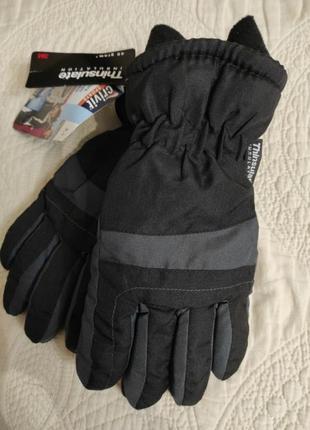 Теплі, непромокаючі, не продуваються рукавиці crivit .  розмір 5.5