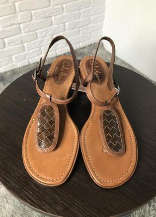 Кожаные босоножки сандали cole haan