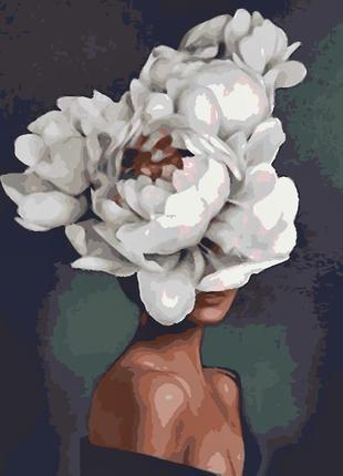 Картина по номерам «квітка»