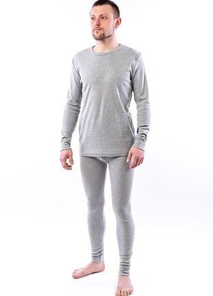 Комплект нижнего белья, серый меланж