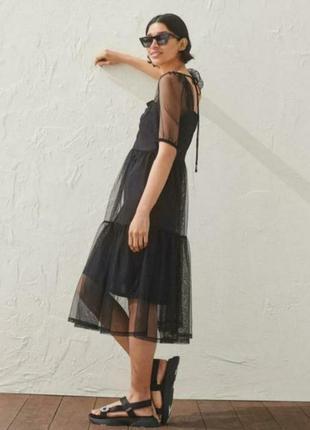 Платье zara  h&m m-l-xl