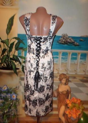 Красивое корсетное платье!2 фото