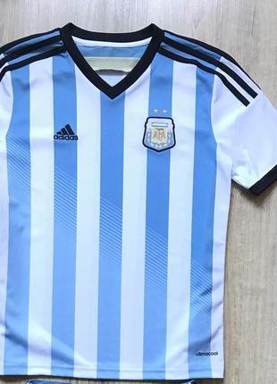 Подростковая футбольная джерси adidas argentina afa national team