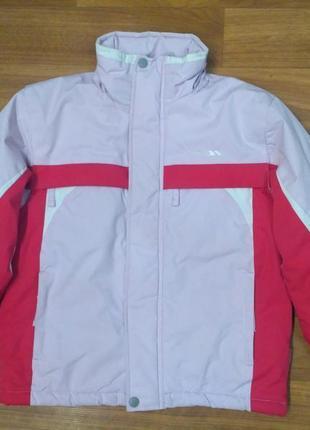 Trespass зимняя лыжная термокуртка для девочки 110-116