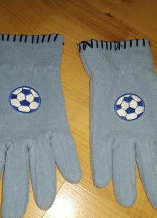 Рукавицы перчатки детские футбол
