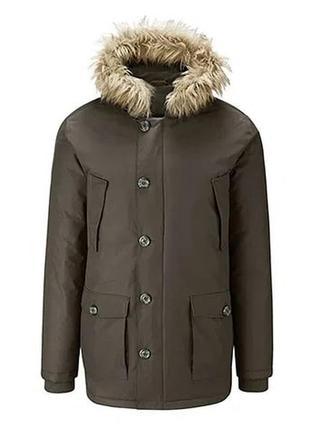 Мужская куртка парка зимняя snow tech tchibo