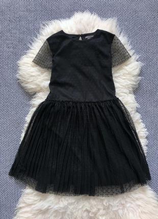 Пышное фатиновое платье пачка сетка кукольное вечернее праздничное хеллоуин